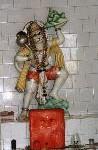Hanuman, de koning van de Apen, trouwe dienaar van Ram